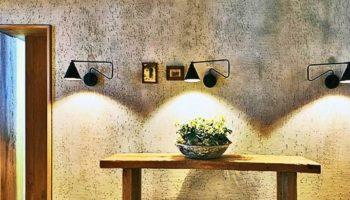 Декоративная штукатурка Короед в интерьере помещения