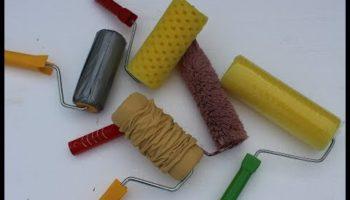 Валики для декоративной штукатурки – создаем эффект «кантри», «апельсиновой корки» и другую имитацию на собственных стенах