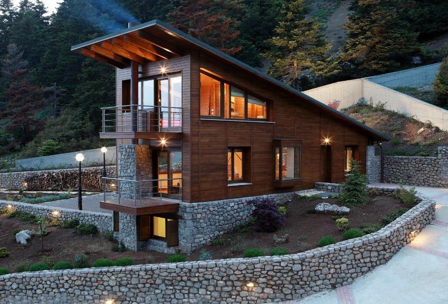 Дом на склоне – это не всегда проблема