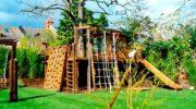 Детские площадки для дачи – воплощаем мечты детства