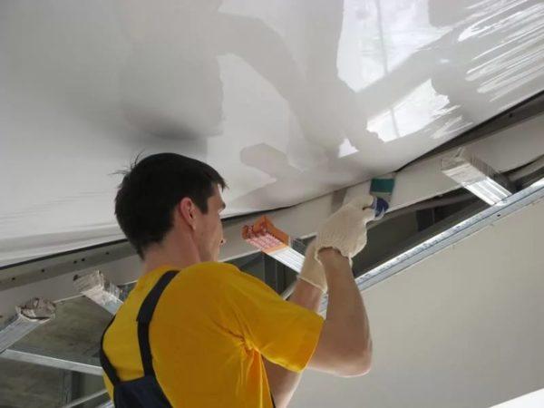 Натяжной потолок — отличный выбор!