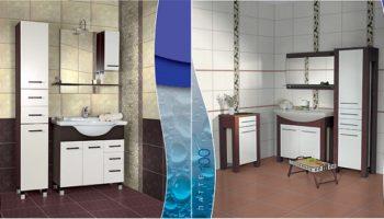 Мебель для ванных комнат «Акваль» в Полоцке
