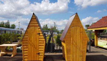 Туалет дачный деревянный. ИП Хохолко Р.Г.