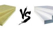 Минеральная вата или пенопласт – что выбрать