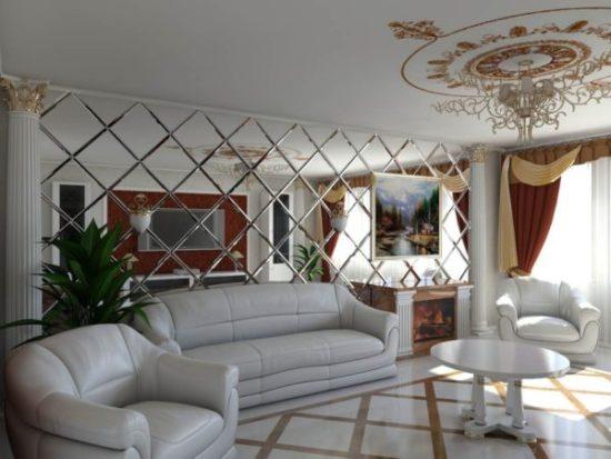 Дизайн однокомнатной квартиры своими руками, 10 фото