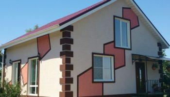 Отделка фасада, виды отделки фасада
