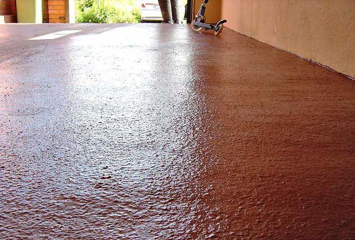 Краска для бетонного пола   Наливные полы