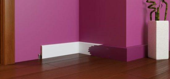 Плинтус под покраску – варианты дизайна ремонта