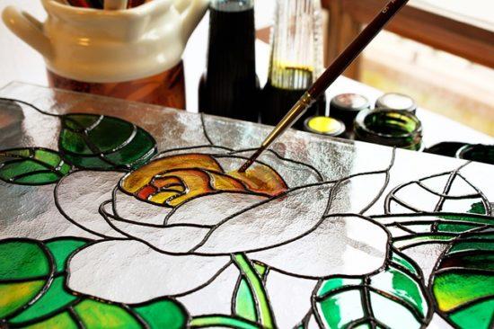 Декорирование стекла - делаем красоту