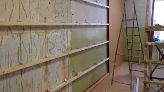 Отделка кухни стены