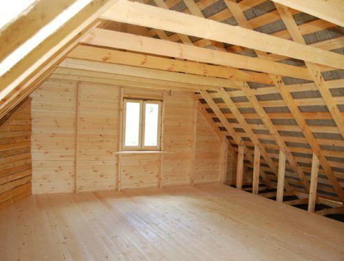 Имеет ли недостатки дом с мансардой?