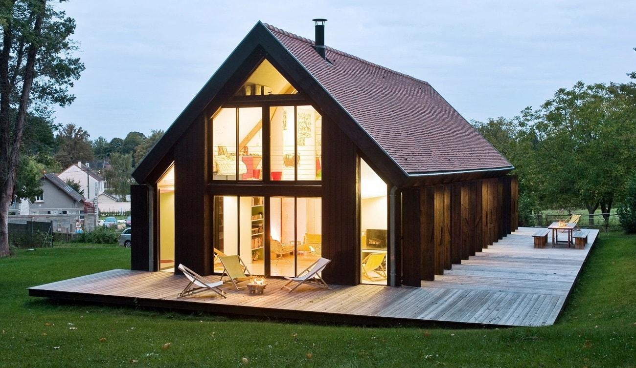 Двускатная крыша: виды этой многоликой конструкции