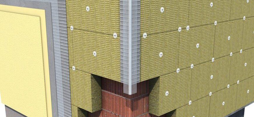 Материалы для создания мокрого фасада