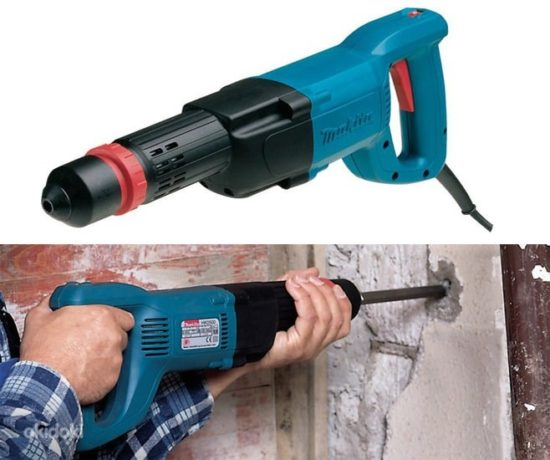Электрический отбойный молоток – Принципы работы отбойного молотка