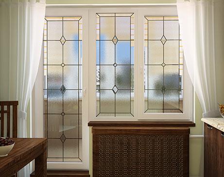 Современные окна в интерьере