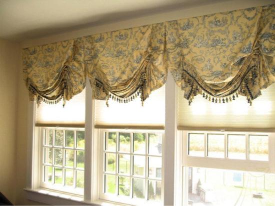 Декорирование окон: шторы и жалюзи