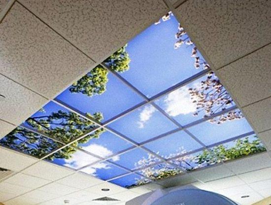 Потолочный витраж – дизайнерское решение в оформлении потолка