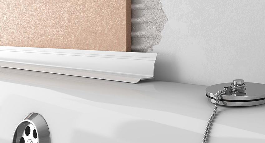 Бордюр для ванны – эстетика и практичность своими руками