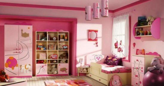 Дизайн детской комнаты для девочки – когда нужно учесть все!