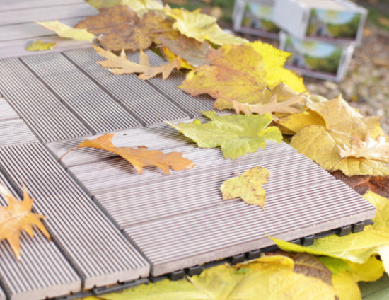 Садовый паркет – как правильно уложить?