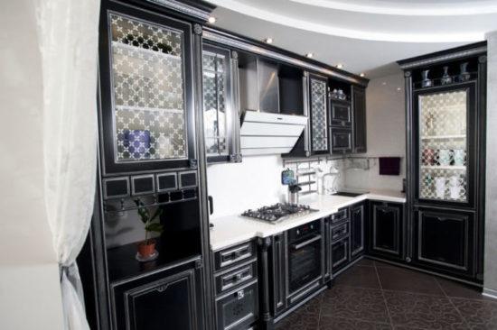 Стекла для кухонных фасадов – делаем помещение практичным и эстетичным