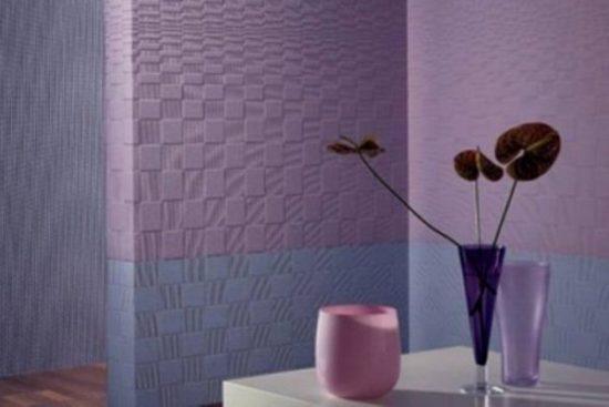 Стеклообои в интерьере ванной и кухни, или отличная замена кафелю