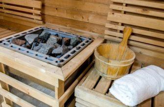 Печь каменка для бани в Полоцке