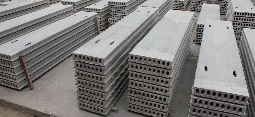 Все о бетонных плитах перекрытия