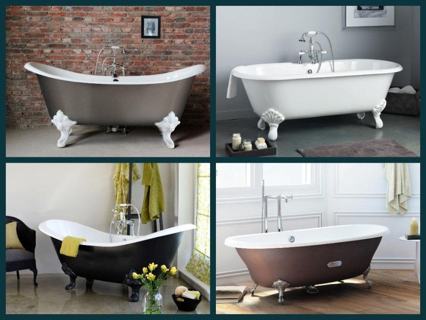 Чугунные ванные