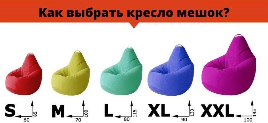 Как выбрать кресло мешок