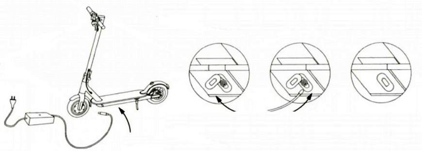 Как зарядить самокат